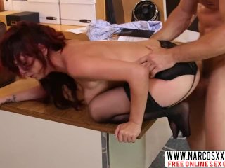 Awesome Not Mother Ashlee Graham In Stockings Creampie