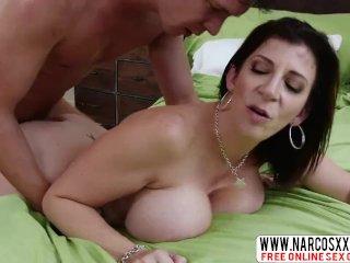 Successful Aunt Sara Jay Likes Wild Cock