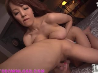 Huge Boobs Busty Asian Wearing Sexy Tiny Outfit