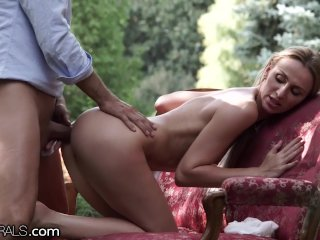 Female Beauty Natural Erotic Anal Creampie