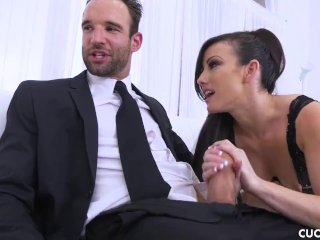 Jennifer White Shows Off All Her Skills While Watching Husband Husband Cuckold