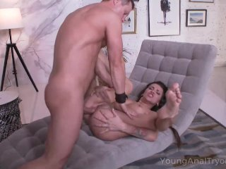 Naked Baby Teases Guy With Her Perfect Body