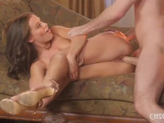 Lana Rhoades And James Deen Fuck Each Other Hard Until They Come