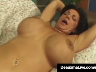 Texas Cougar Deauxma Gets Her Tight Ass Fucked Hard!