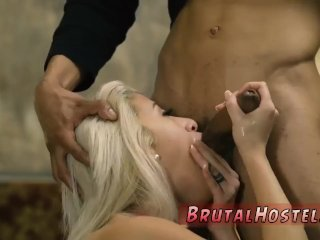 Slave Fucked Busty Ash Blonde Beauty