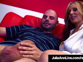 Hot Sex Hungry Milf Julia Ann Fucks Her Cum Student Cum!