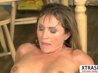 Beautiful Mother Luna Azul Ride Cock Hard Touching Friend