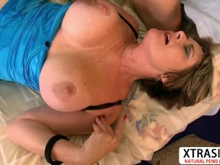 Old Stepmom Victoria Peale Gives Blowjob Hot Hot Daddy Friend