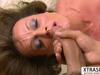 Horny Stepmom Riley Wayne Gives Titjob Hard Teen Stepson