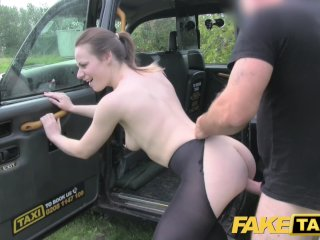 Fake Taxi Amazing Deepthroat Gagging Brunette With All Ingredients