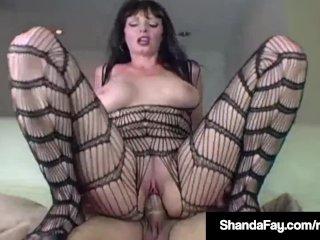 Hot Housewife Shanda Fay Banged In Pantyhose & Amp; Enjoy Sex