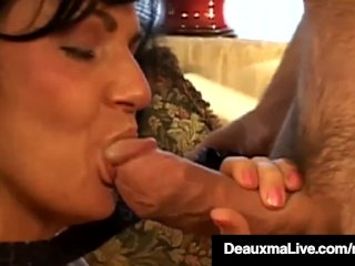 Big Boobed Cougar Deauxma Gets Anal Pounded By Horny Hard Fan