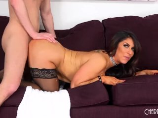 Raven Hard Is A Wild Milf Who Loves Sex And Gets Fucked Hard