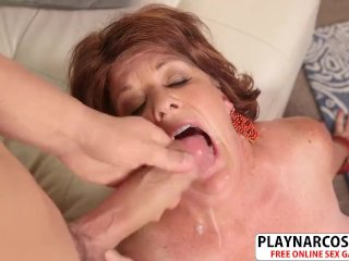 Charm Milf Gabriella La May Gets Her Son Fucked Hot