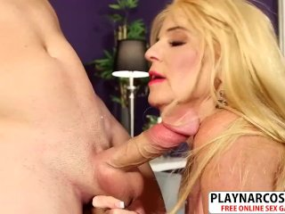 Voluptuous Girlfriend Mother Charlie Charm Gets Nailed Good Teen Friend