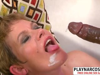 Gorgeous Step Mom Marla Jones Riding Cock Hot Touching Step Son