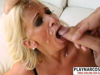 Lovely Not Mom Brooklynn Rayne Gives Titjob Hot Teen Stepson