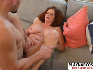 Mature Mother Andi James Gives Titjob A Good Touching Friend