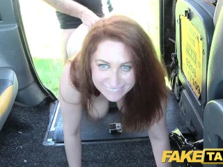 Fake Sinuous Taxi Big Tits With Bush Pussy Ginger Wants Cock