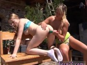 Tryteens big tits first time Kate & Tanya