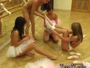 Nessa devil dildo Hot ballet female orgy