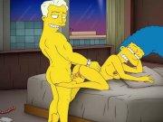 Cartoon Porn Simpsons Porn mom