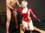 Latex Lucy the British Dominatrix 2 – Scene 4 – DDF Productions
