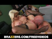 Beautiful hungry blonde loves to be dominated - brazzers