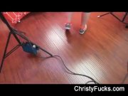 Behind the scenes fun with Christy Mack