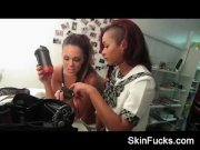 Alison Tyler and Skin Diamond Behind Cameras