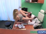 FakeHospital Tight pussy makes doctor cum