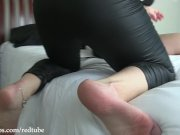 Serena & Kay Tastrophe Belt Bondage Orgasms