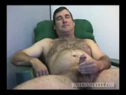Homemade Video of Mature Amateur Robert Jacking Off