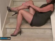 EuropeMaturE Older Lady Rose Solo