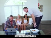DaughterSwap - Hot Daughters Hypnotized By Dads