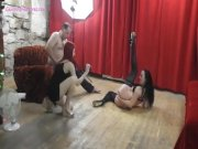 Funny breaks with hot MILF