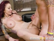 Hot Big Tit Redhead Seduces Her Boss - Brazzers