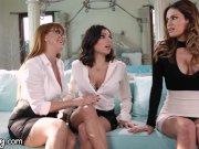 Lesbian Boss Makes Employees Prove they Like