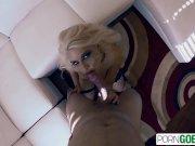 PornGoesPro - Annika Albrite fuck and suck a big dick in POV, big booty