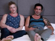 NextDoorBuddies Chris Blades Breaks in College Hunk
