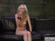 Bondage rough slave Helpless teenager Piper