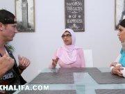 MIA KHALIFA - Featuring Big Tits MILF Julianna Vega With Cum Shot!