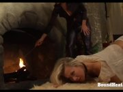 On Consignment 3: Young Blonde Slave On Her Submissive Training