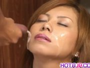 Aya Fujii ends premium fuck play with facial - More at hotajp com