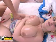 BANGBROS - Blonde PAWG with Big Tits Named Siri Gets Hammered