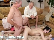 BLUE PILL MEN - Dirty Old Men Stick Their Dirty Old Dicks In Alex Harper