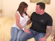 AgedLovE Mature lady grows wild with this manly partner