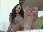 POV Toe Sucking And Femdom Foot Fetish Videos