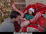 ExxxtraSmall - Santas Little Helper Wants Hot Cum On Her Face
