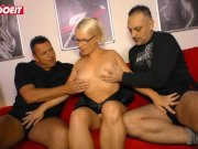 LETSDOEIT - German Amateur Swinger Shares Wife With His Step Brother